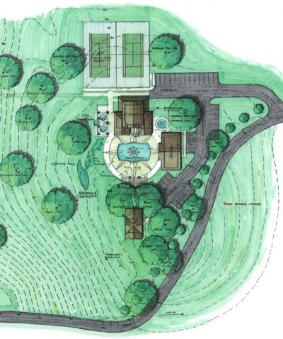 residential site plan in north georgia picture and link